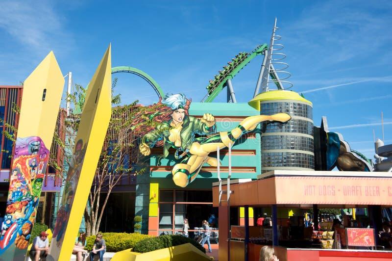 Islas de Universalâs de la aventura en Orlando imágenes de archivo libres de regalías