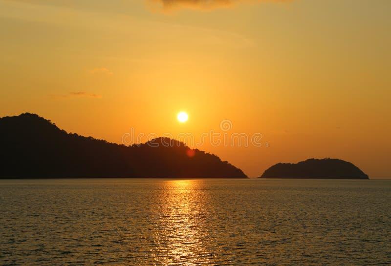 Islas en el golfo de Tailandia, Tailandia foto de archivo