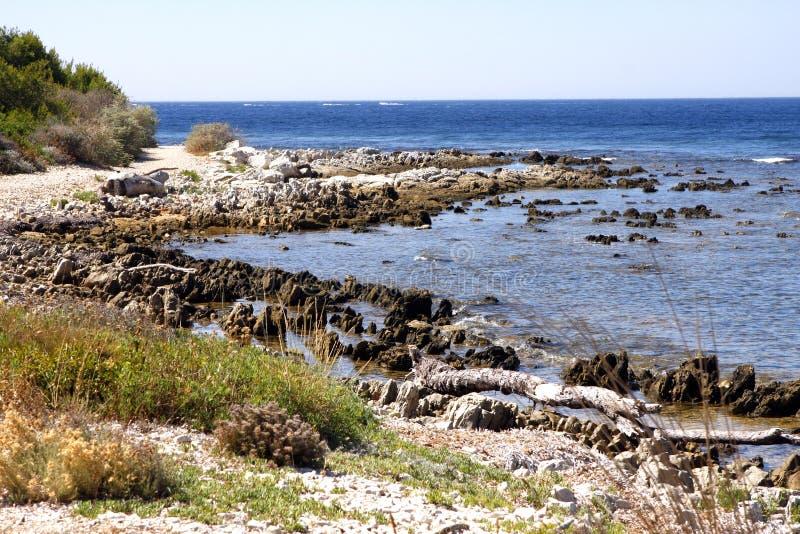 Islas Francia de Lerins fotografía de archivo libre de regalías