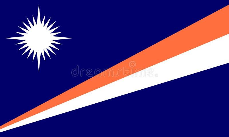 Islas Marshall ilustración del vector