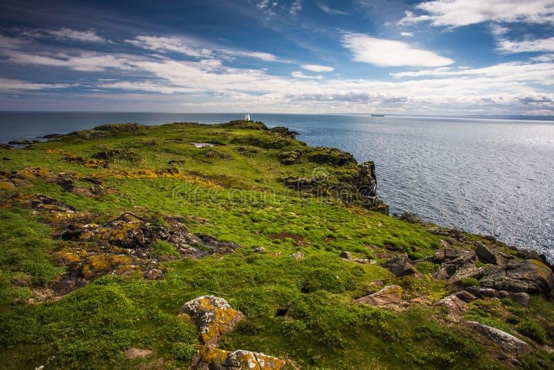 Isle of May, Scotland. Landscape on the Isle of May, Scotland stock photos