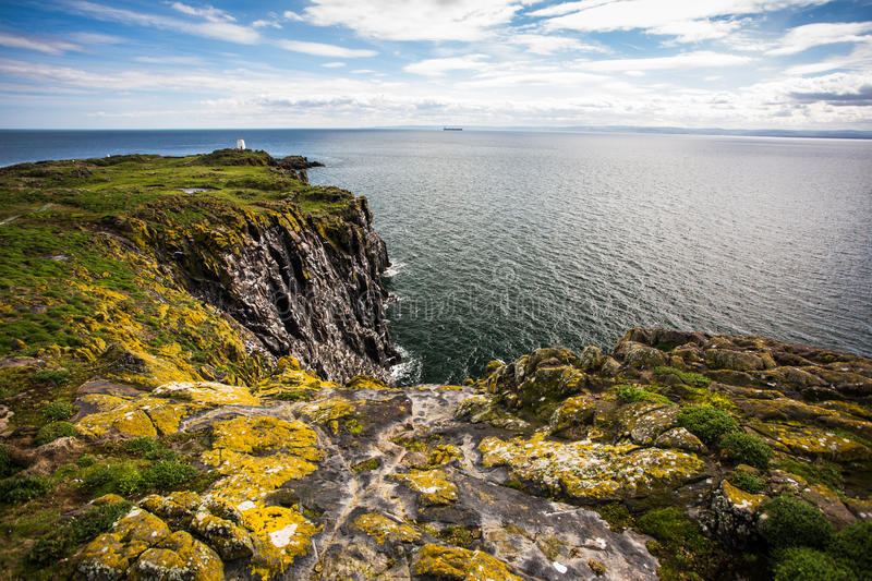 Isle of May, Scotland. View of Isle of May, Scotland stock images
