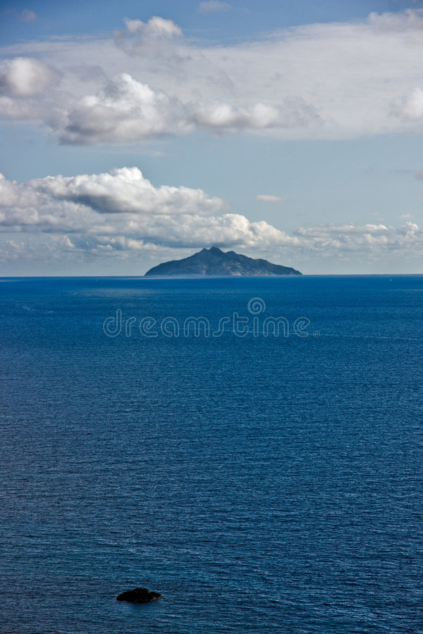 Isle of Montecristo, view from Chiessi, Isle of El