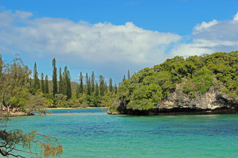 Isle of pines, new caledonia, south pacific royalty free stock photo