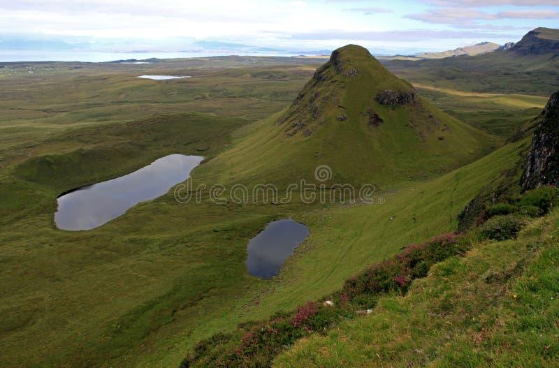 Isle of Skye. Scotland. Isle of Skye. trotternish ridge stock photos