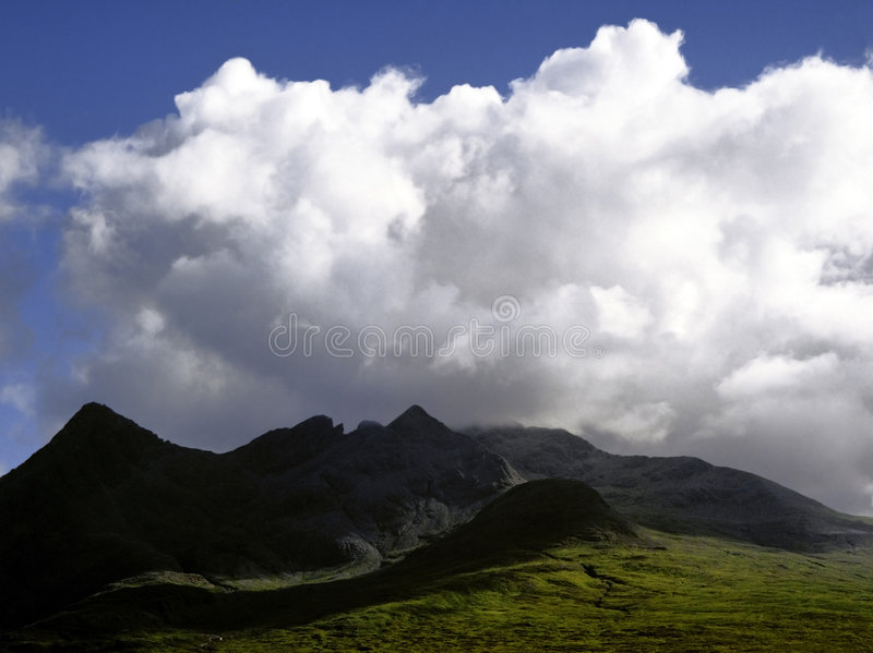 Isle of skye royalty free stock image