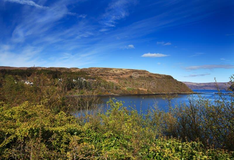 Isle of Skye - coastal landscape, Scotland, UK stock photo