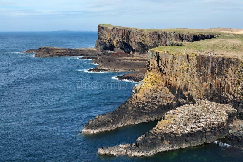 Isle of Staffa, Scotland royalty free stock image