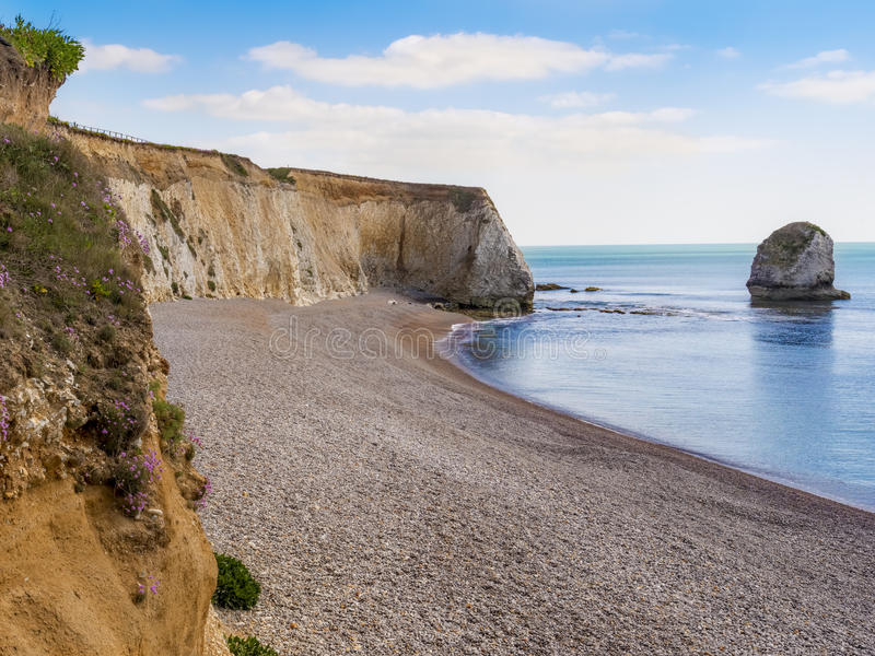 Isle of Wight in summer England. Isle of Wight tourist attraction in summer, England, UK stock photography