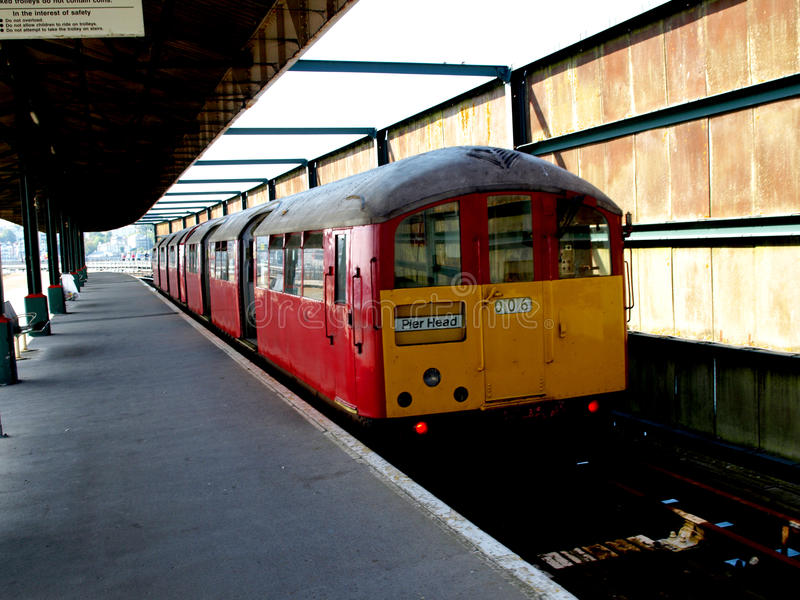 Isle of Wight Train royalty free stock photo