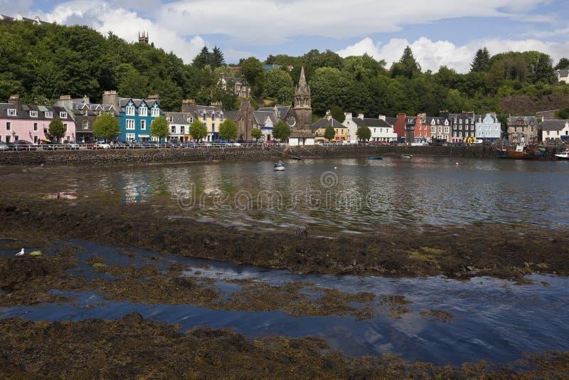islen mull tobarmory scotland royaltyfria bilder