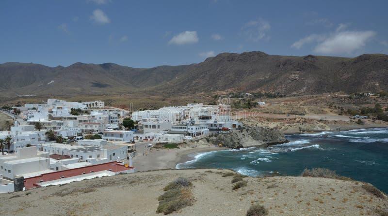 Isleta del Moro Λα σε Cabo de Gata Ισπανία στοκ εικόνες