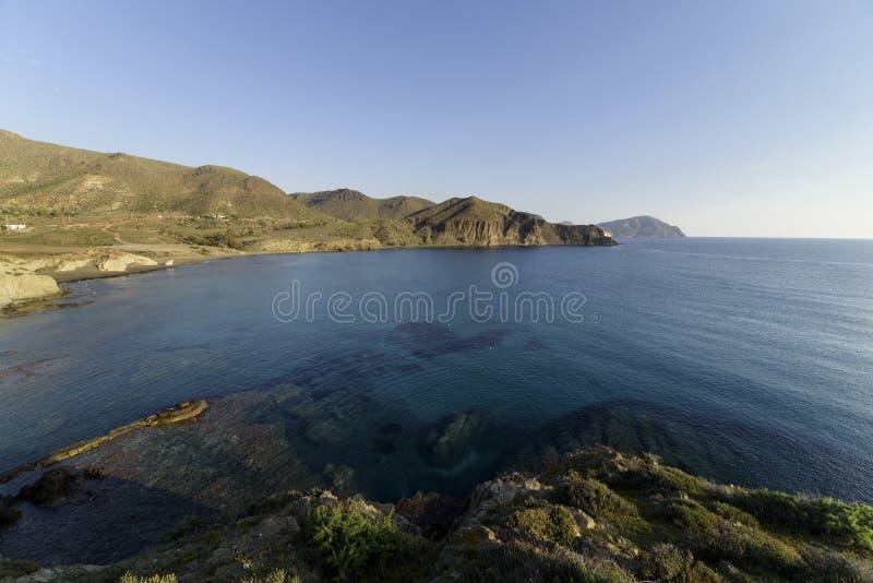 Isleta del moro σε Cabo de Gata στοκ φωτογραφία με δικαίωμα ελεύθερης χρήσης