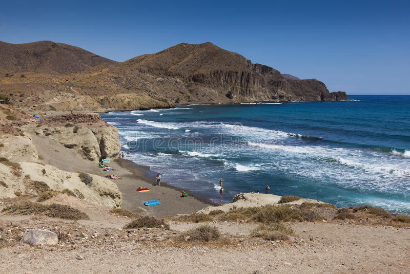 Isleta del Moro στοκ εικόνα
