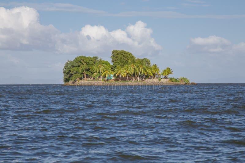 Isletas, kleine eilanden van Granada, Nicaragua stock afbeelding