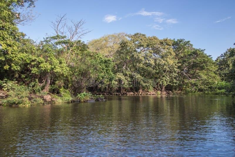 Isletas van een Meer van Nicaragua royalty-vrije stock afbeeldingen