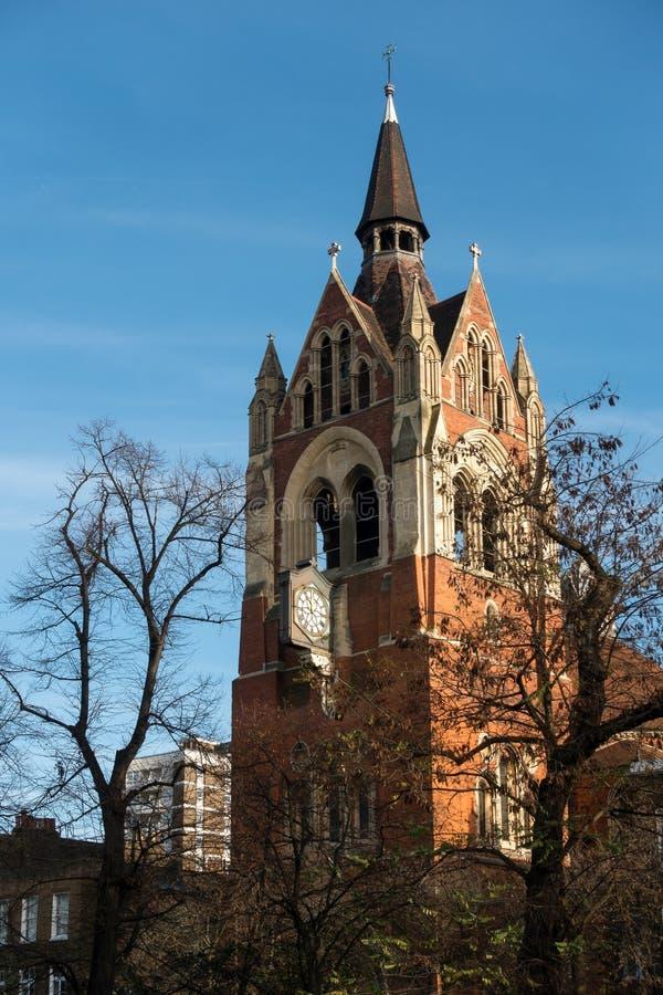 ISLINGTON, LONDON/UK - 27 DE DEZEMBRO: Vista da capela da união dentro imagens de stock royalty free
