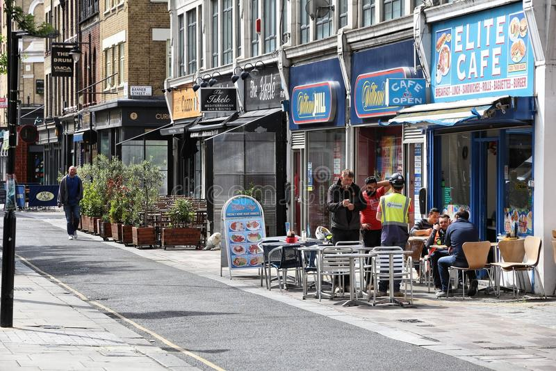 Islington, Londres fotos de stock royalty free
