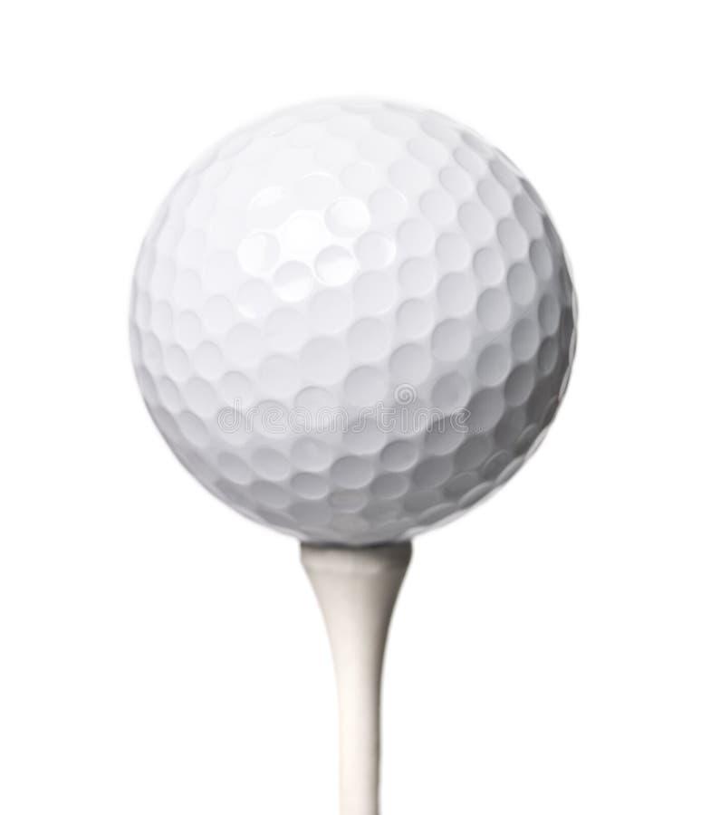 isloated гольф шарика стоковые фото