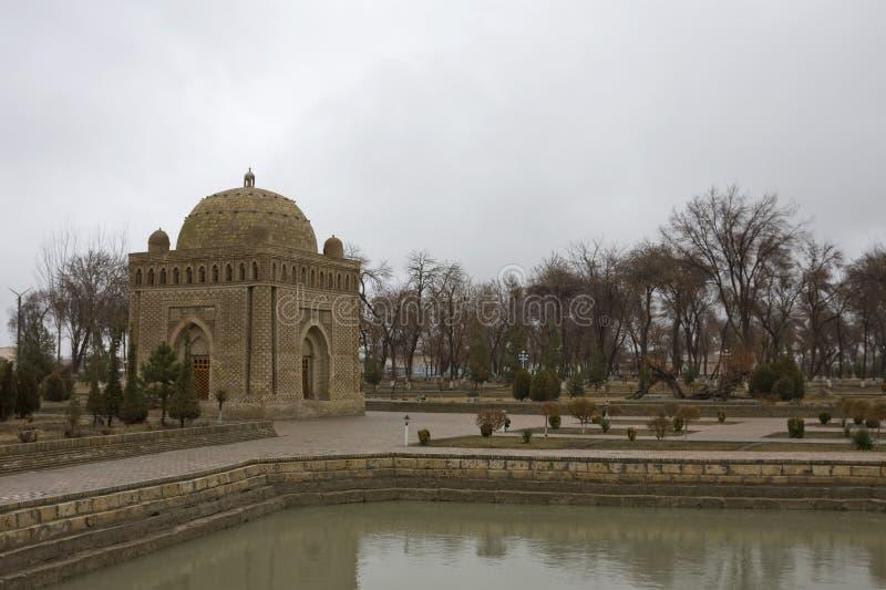 Ismail Samani Mausoleum, Boukhara, Oezbekistan royalty-vrije stock foto