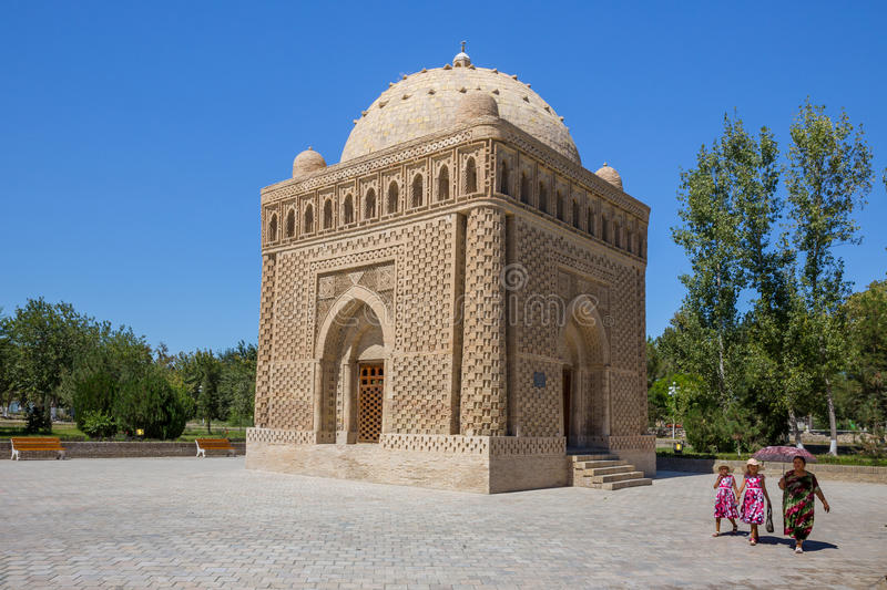 Download Ismail Samani Mausoleum In Bukhara, Uzbekistan Editorial Image - Image: 83713635