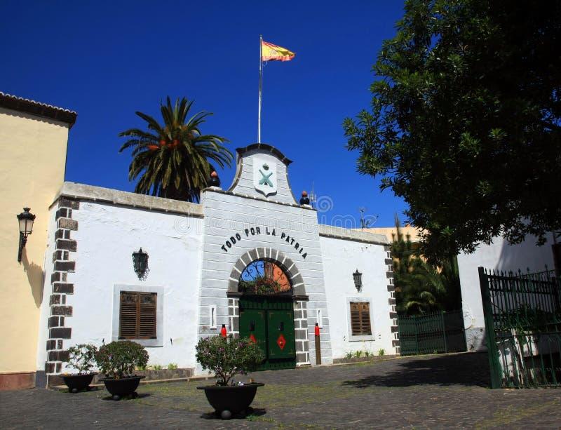 isnalds kanarowy los angeles Laguna Spain Tenerife obraz stock