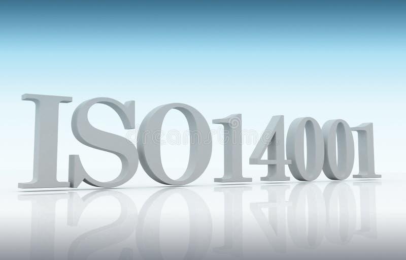 ISO 14001 库存例证