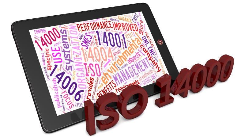 ISO 14000 vektor abbildung