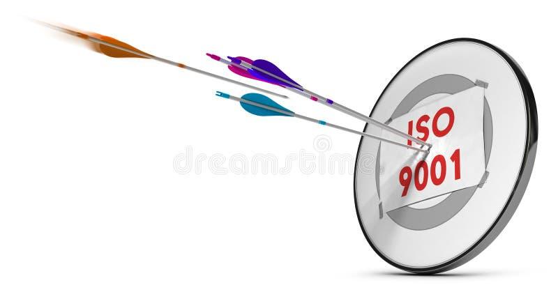 iso 9001 stock illustrationer