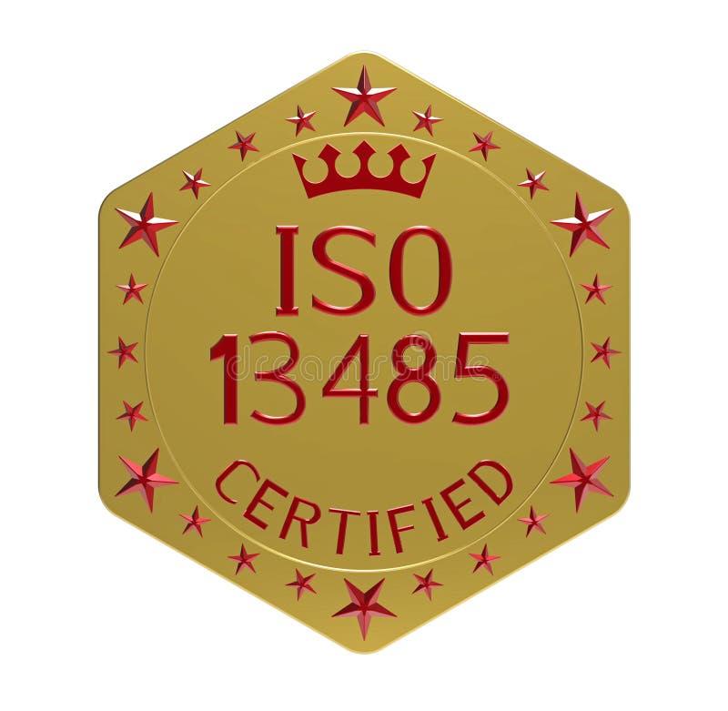 ISO 13485 standard vector illustration