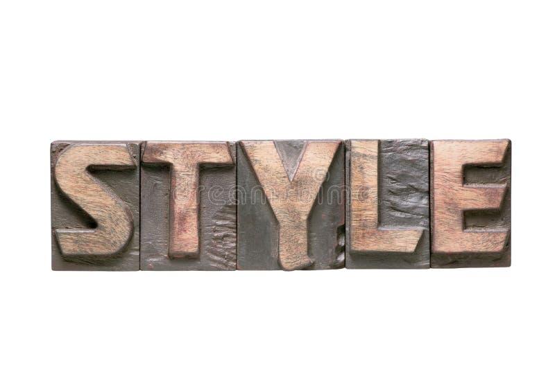 Isol van het stijlwoord royalty-vrije stock foto
