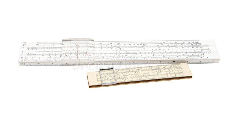 Download Isol Van Twee Uitstekende Rekenliniaal Mechanische Calculators Stock Afbeelding - Afbeelding bestaande uit ingenieur, regel: 10782291