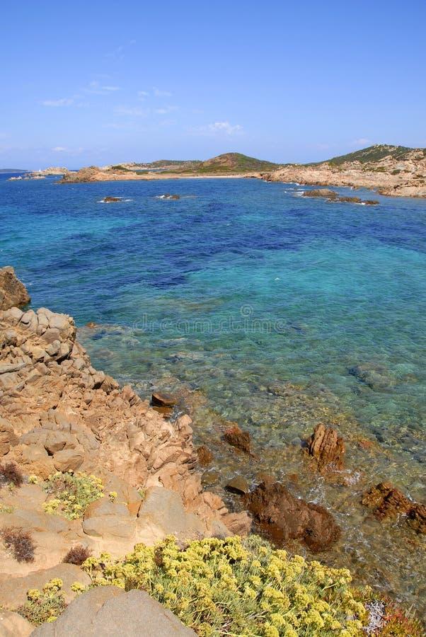 isola意大利maddalena ・撒丁岛 免版税库存照片