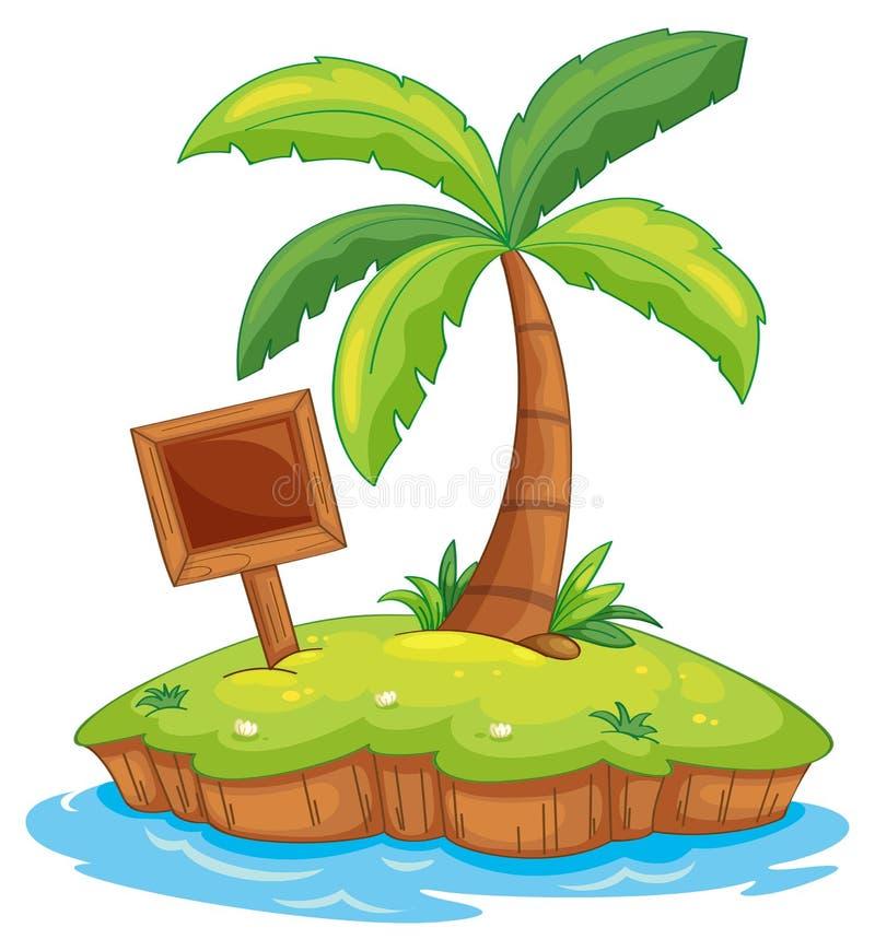 Isola illustrazione di stock