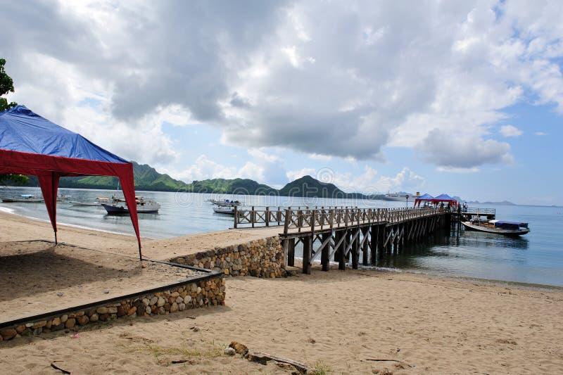 Isola 3 di Komodo immagini stock libere da diritti