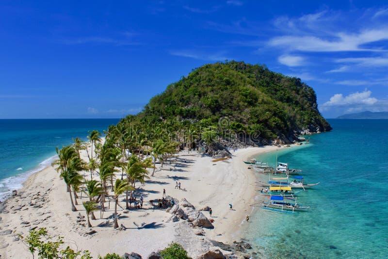 Isola Antonia Island di Cabugao fotografie stock