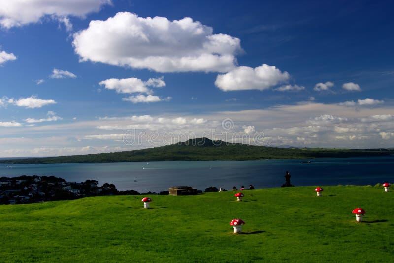 Isola Auckland di Rangitoto   fotografia stock