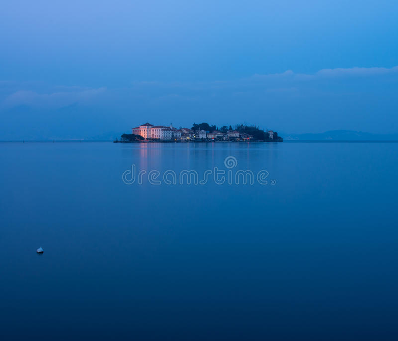 Isola Bella στη λίμνη Maggiore στοκ φωτογραφία