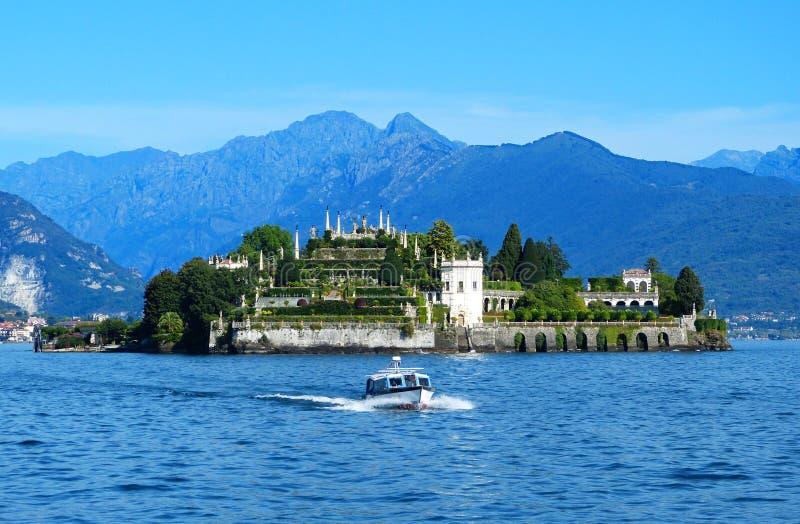 Isola Bella στη λίμνη Maggiore στοκ εικόνα με δικαίωμα ελεύθερης χρήσης