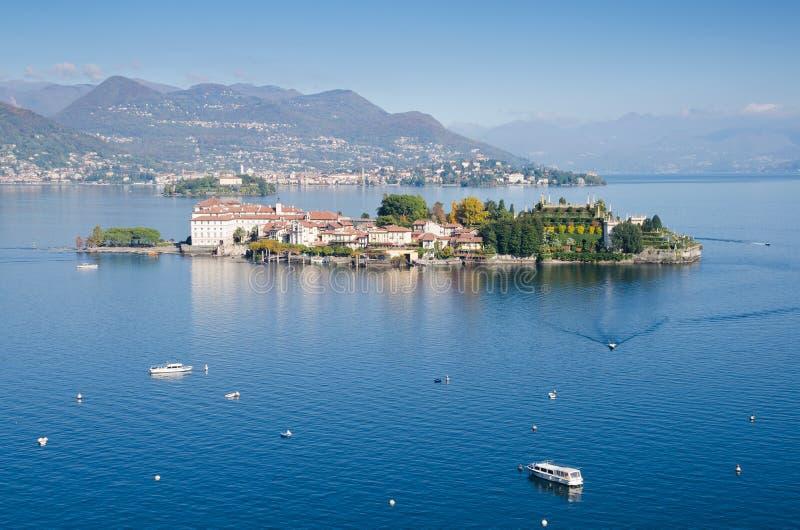 Isola Bella, lac Maggiore photos libres de droits
