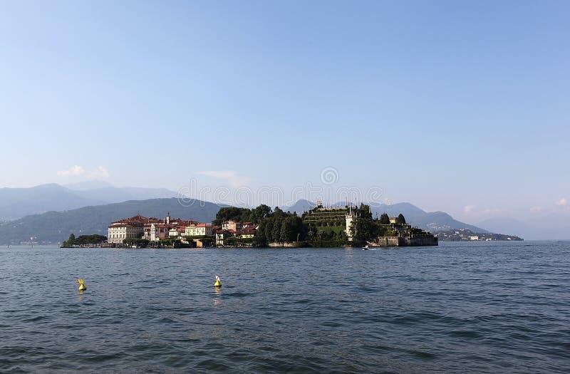Isola Bella Lago Maggiore. Италия. стоковое фото rf