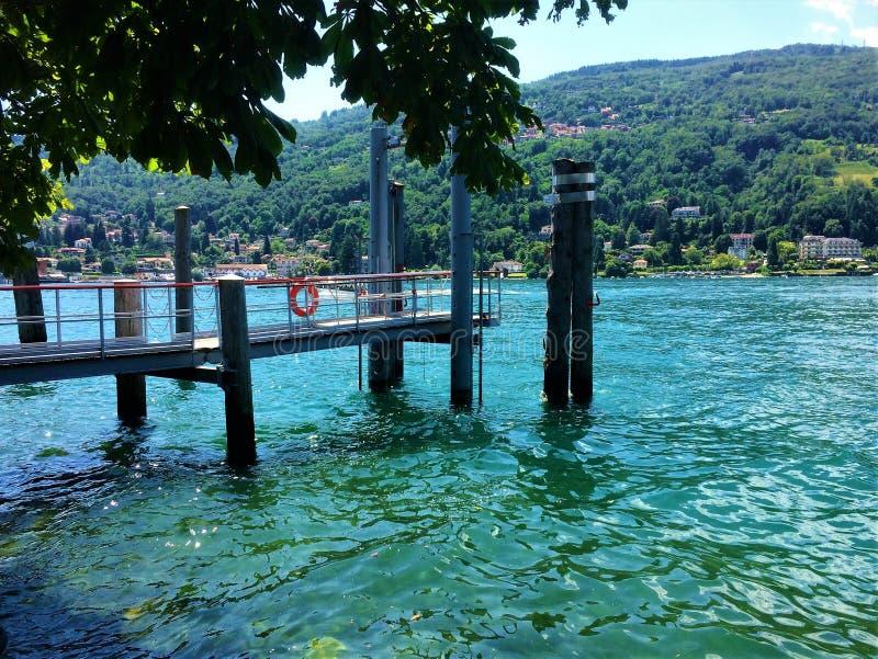 Isola Bella, Piemont Italy fotografia de stock