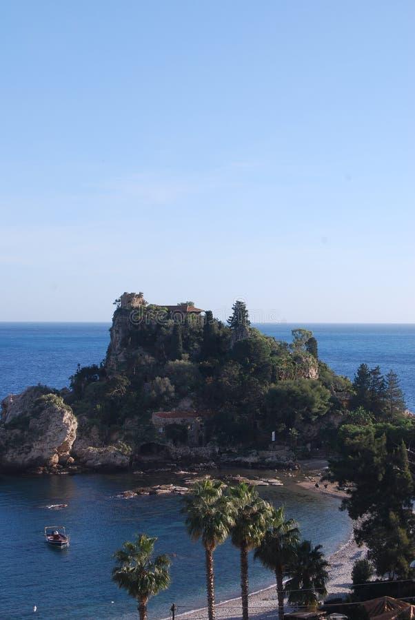Isola Bella, Sicilien - Italien royaltyfri bild