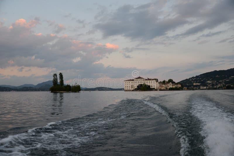 Isola Bella, Stresa. Lake - lago - Maggiore, Italy stock images
