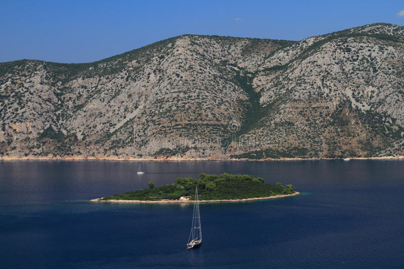 Isola, Croazia immagini stock libere da diritti
