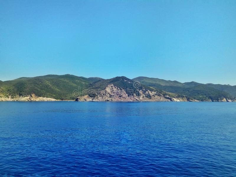Isola D ` Elba Italy royalty-vrije stock foto's