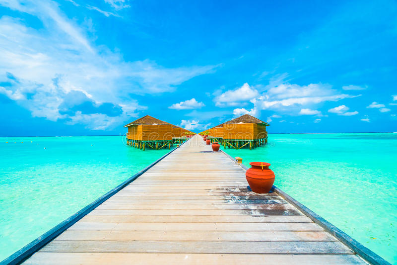 Isola dei Maldives immagine stock