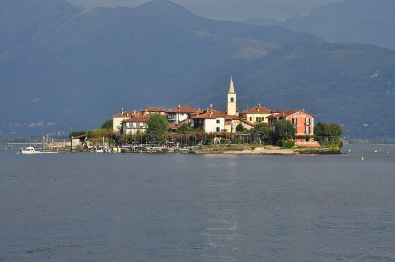 Stresa, Italy. Isola dei Pescatori, Lake - lago - Maggiore royalty free stock images