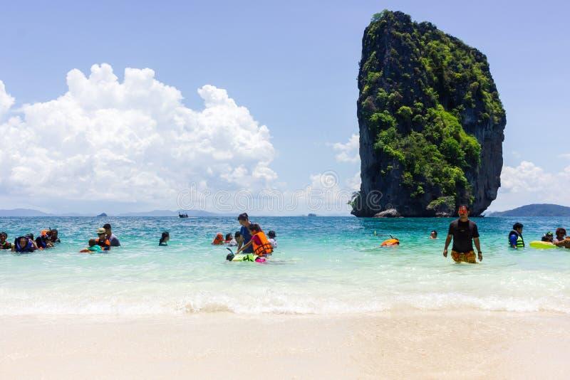 Isola dei pp in Tailandia immagine stock libera da diritti