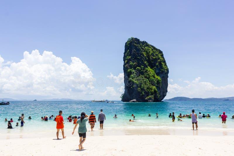 Isola dei pp in Tailandia fotografie stock